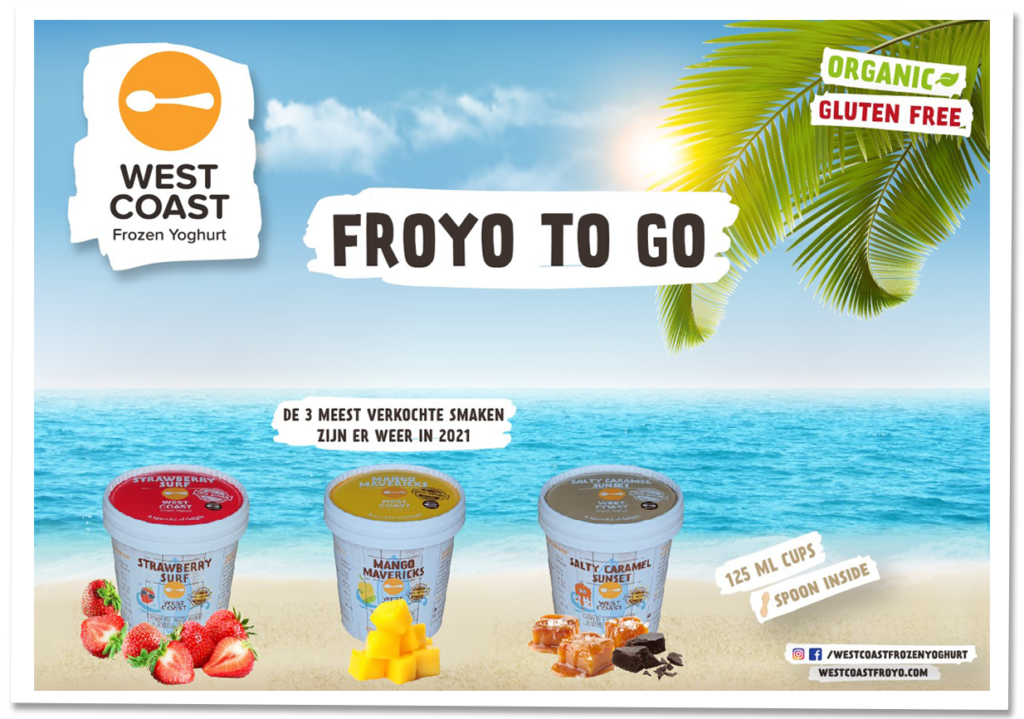 West Coast Froyo To Go retail